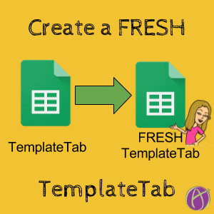 Create a new TemplateTab
