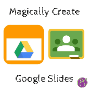 Google Classroom: Review Images Magically