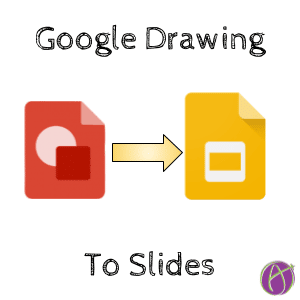 Add Google Drawing to Google Slides