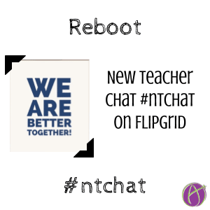 New Teacher Chat is BACK #ntchat