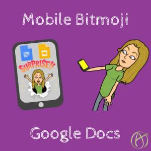 Mobile Bitmoji in Google Docs