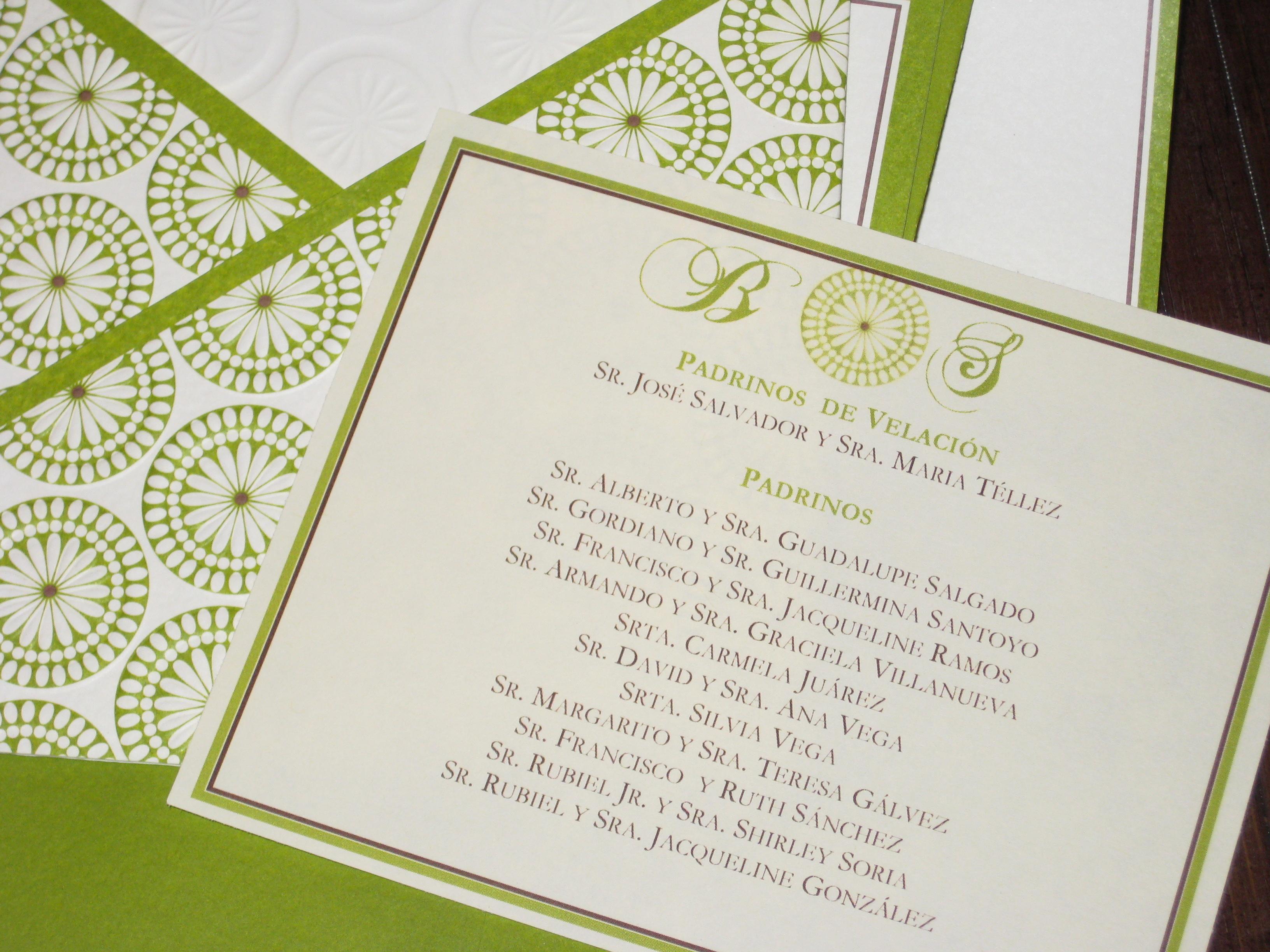 brides green and brown wedding invitation kit wedding invitation kit Advertisements