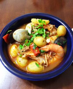 Spicy Chorizo & Seafood Stew