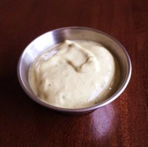Herb tahini dressing