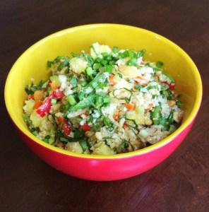 Thai Pineapple Fried Cauliflower Rice
