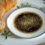 Rosemary Parmesan Dipping Oil & Crisco Olive Oils