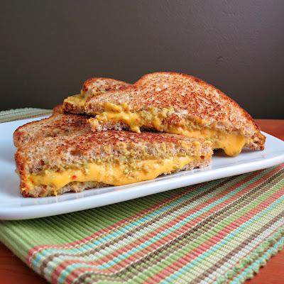 Guacamole Grilled Cheese Sandwich - Alida's Kitchen