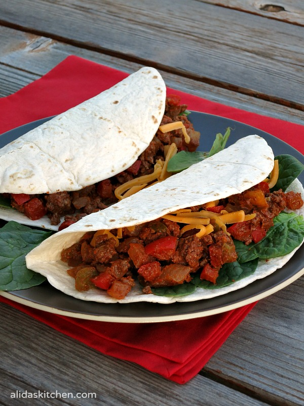 Lighter Chipotle Beef Tacos #SundaySupper #ChooseDreams ...