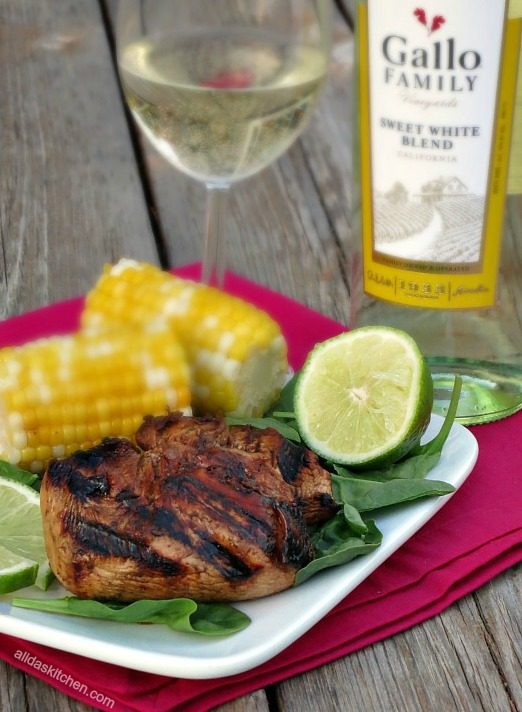 Grilled Honey Lime Chicken #SundaySupper | Alida's Kitchen