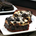 Cookies and Cream Cheesecake Brownies #SundaySupper