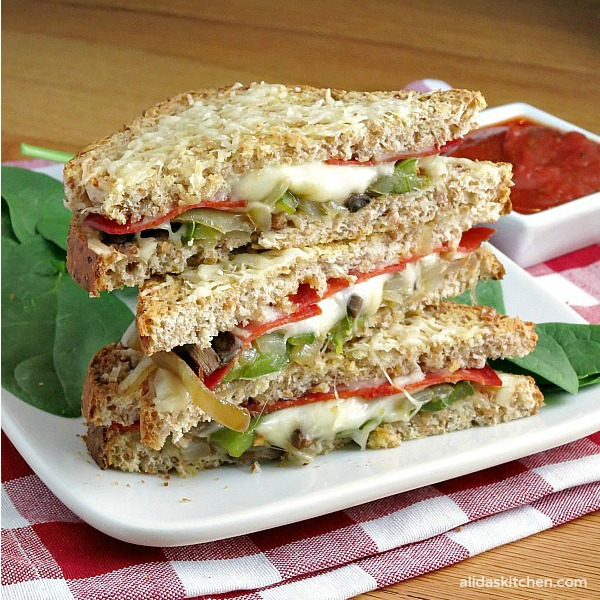 Pizza Grilled Cheese   alidaskitchen.com