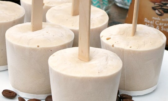 Iced Coffee Yogurt Pops