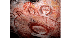 Alien-and-UFO-cave-painting
