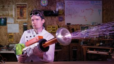 DIY Tesla Coil Gun: The Best Mad Scientists Are Well-Grounded