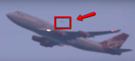 UFO Overtakes Virgin Atlantic Plane Leaving JFK! LookNowTV UFO Video