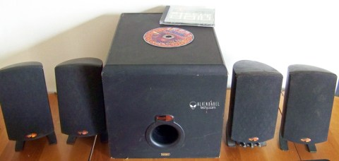 Klipsch2 Diamonds Xtreme Sound External digital HD 7.1 Sound Card review