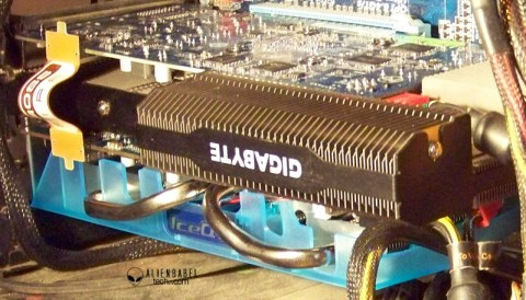 CF 1 The Passive Gigabyte & Overclocked HIS HD 6770 meet the EVGA GTX 550 Ti