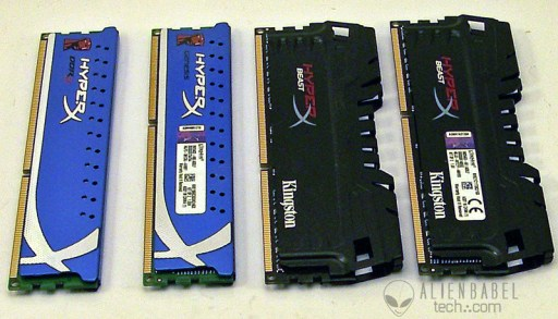 Side by side Does the Kingston Beast 2133MHz DDR3 live up to its name?