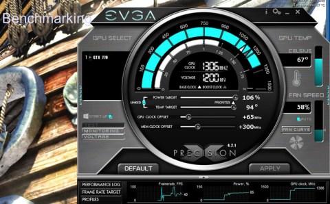 EVGA PrecisionX Overclocking tool