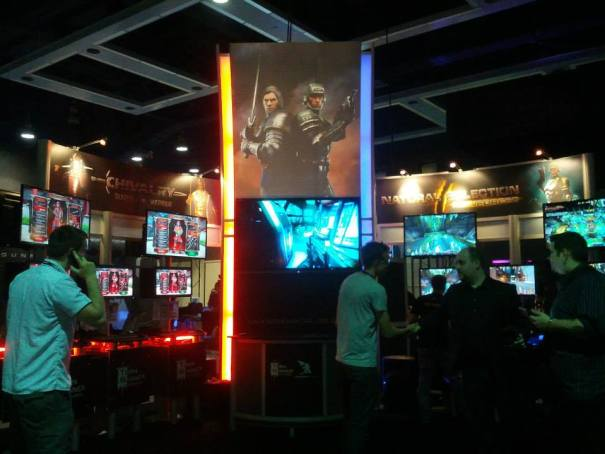 Chivalry: Deadliest Warrior and Natural Selection 2 PAX Prime 2013 Booth.