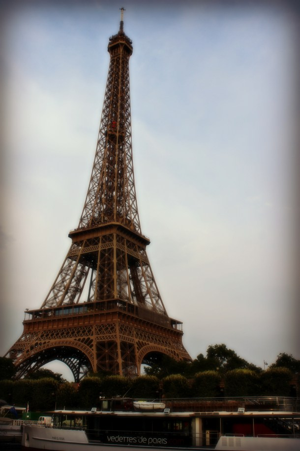 Eiffel Tower, Paris (Photo by Michael K. Smith, July 2013)