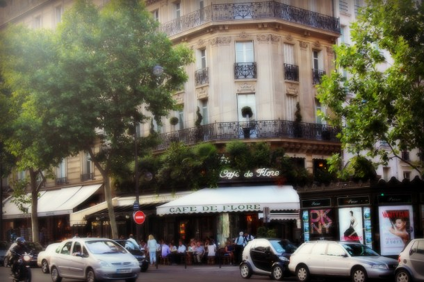 Cafe de Flore, Paris (Photo by Michael K. Smith, July 2013)