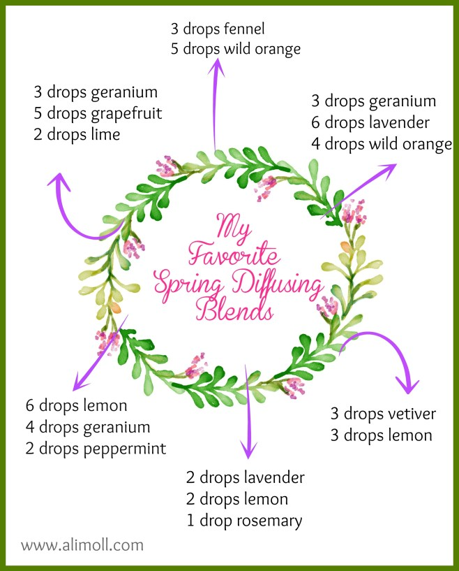 Fave Spring Diffusing Blends