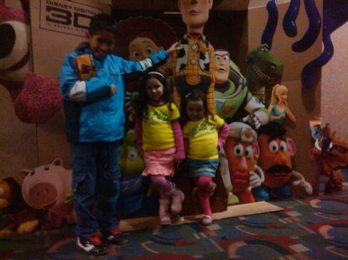 Com as Crianças no Cinema #ToyStory3