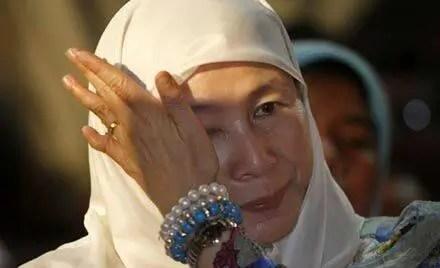 Wan Azizah reacts - Photograph: bumilangit/Twitter