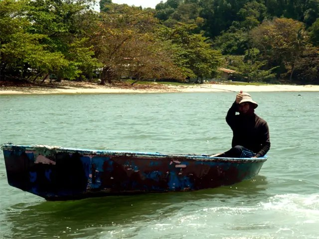 Fisher folk at Teluk Kumbar - Photograph: Syerleena Abdul Rashid