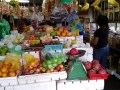Many of the fruits sold in Malaysian shops are imported.