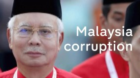 As Najib visits UK, Malaysian corruption scandal threatens free speech