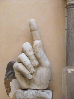Constantine's finger