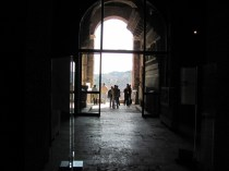 Underneath the Capitoline, in the Roman archives