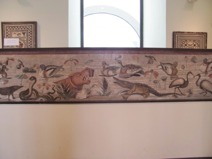 Animal mosaic from Pompeii