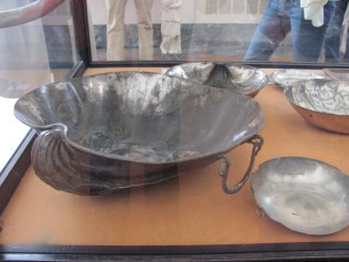 Silver dishes from Pompeii