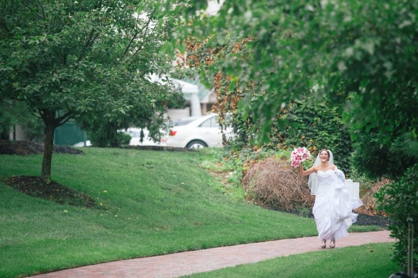 Ellie Keith Hilton Garden Inn Hamilton Wedding Alison Dunn Photography