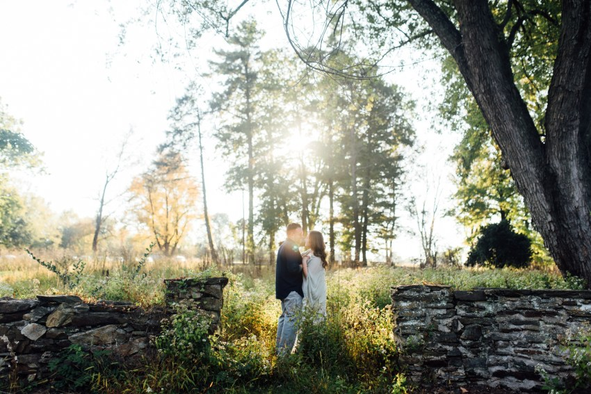 Aaren + Dave - Valley Forge Anniversary Session - Alison Dunn Photography photo