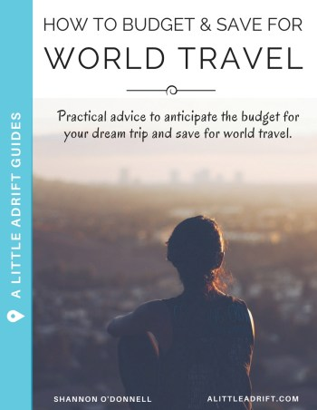budget for world travel