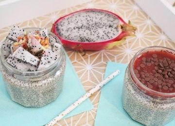 recette chia pudding vanille