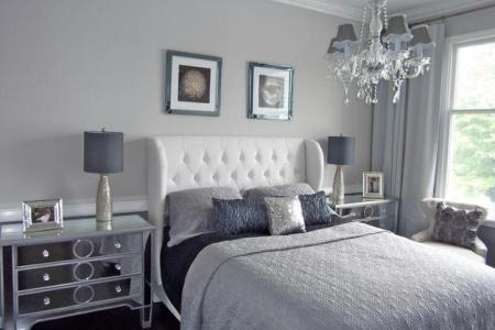 guest post shades of grey in the bedroom | a little