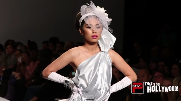 All About Juan Watch Singer Turned Model Jessica Sanchez 1st Fashion Runway Walk For Andre