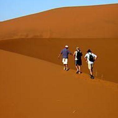 Sand dune at Sossusvlei, Namibia