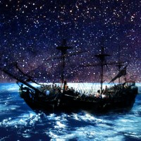 Art Game Earth And The Pirate Ship