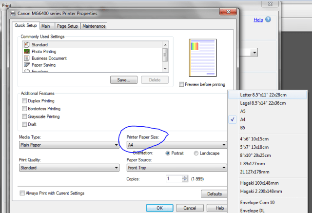 how to resize pages to a4 pdf