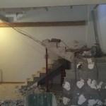 démolition escalier