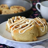 Almond Flour Cinnamon Rolls - Low Carb and Gluten-Free