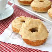 Cinnamon Donuts with Brown Butter Glaze - Low Carb and Gluten-Free