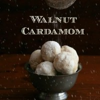 Walnut Cardamom Snowballs