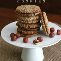 Chocolate Hazelnut Sandwich Cookies